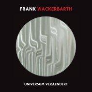 Universum Verändert - Wackerbarth, Frank