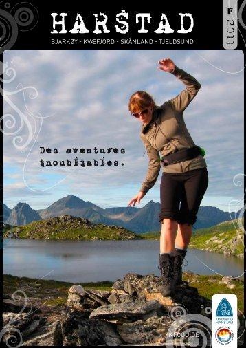Des aventures inoubliables. - Destination Harstad