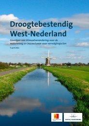 Droogtebestendig West-Nederland.pdf - Royal Haskoning