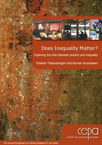 Does Inequality Matter? - CEPA