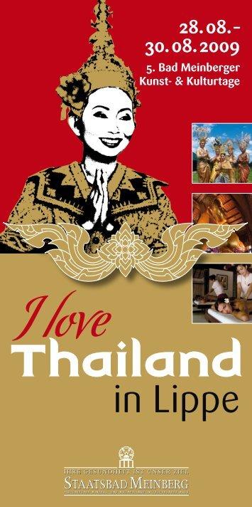 digitale Programmheft - Thailand in Lippe