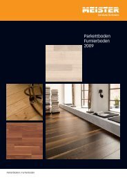 Parkettboden Furnierboden 2009 - Sigl. Holz für Haus und Garten.