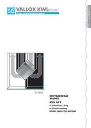 lüftungs-systeme mit wärmerückgewinnung - Heinemann GmbH