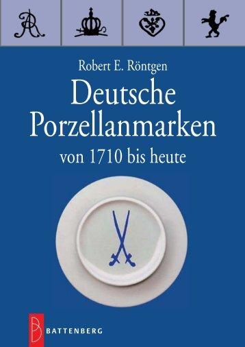 Deutsche Porzellanmarken - Gietl Verlag
