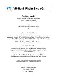 Basisprospekt Inhaberschuldverschreibung, Billigungsversion 17.09 ...
