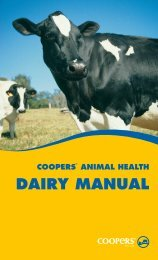 DAIRY MANUAL - Coopers Animal Health