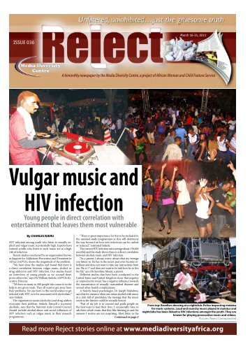 Reject Online Issue 36 - African Woman and Child Feature Service