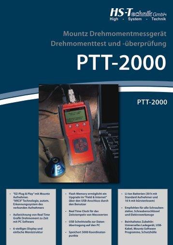 PTT-2000 - HS-Technik