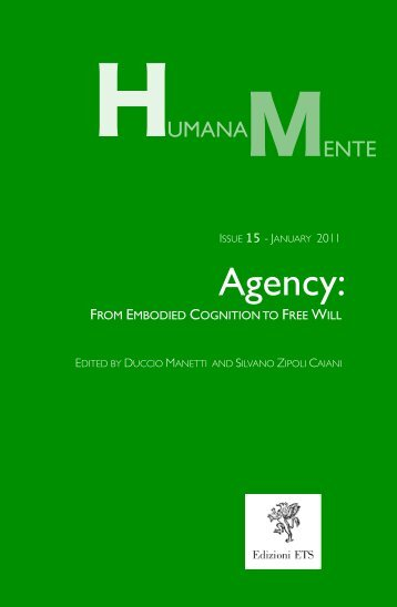 From Embodied Cognition to Free Will - Humana.Mente