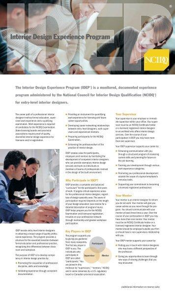 National council for interior design qualification exam