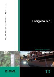 Energiesäulen - GIFAS Electric GmbH