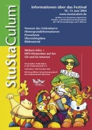 Die Pressemappe zum StuStaCulum 2004