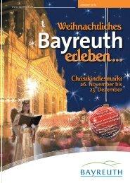 Broschüre Weihnachtliches Bayreuth zum Download - Stadt Bayreuth