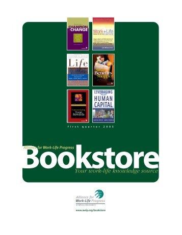 Bookstore - Alliance for Work-Life Progress