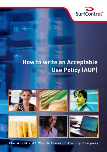 How to write an Acceptable Use Policy (AUP)