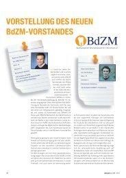 Vorstellung des neuen BdZM-Vorstandes - zahniportal.de