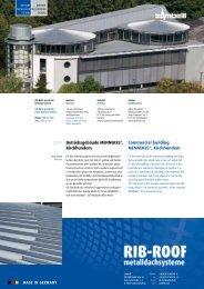 Betriebsgebäude Mennekes®, kirchhundem 2009 Commercial ...
