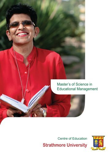 Master's of Science in Education Management - Strathmore University