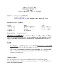 Tuesday & Thursday 11:00 AM - 12:20 PM - Accounting - Florida ...