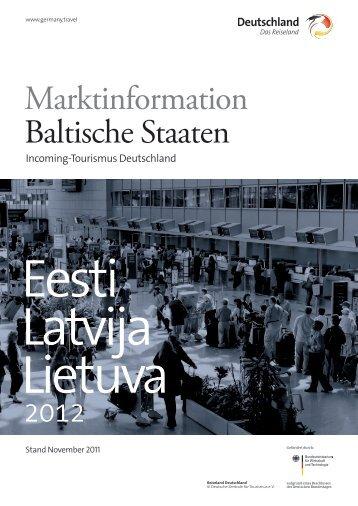 Marktinformation Baltische Staaten - Deutschland