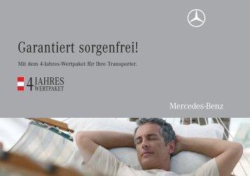 Garantiert sorgenfrei! - Mercedes Benz