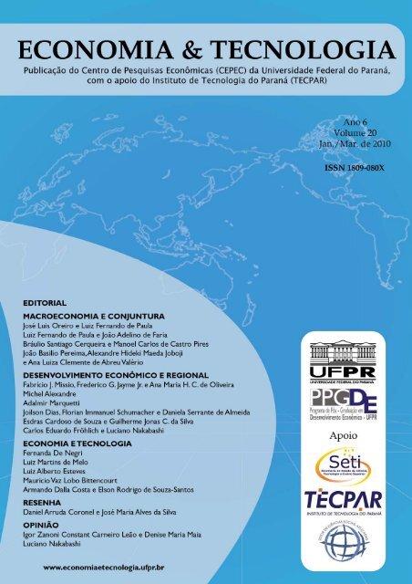 PDF - Economia & Tecnologia - UFPR - Revista Economia ...