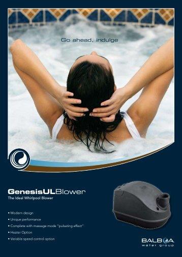 HydroAir Genesis UL Blower_A4 - Balboa Water Group