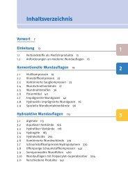 Inhaltsverzeichnis 1 2 3 - Deutscher Apotheker Verlag