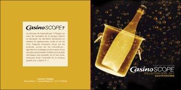 COLLECTION NOËL 2011 GASTRONOMIE - Groupe Casino