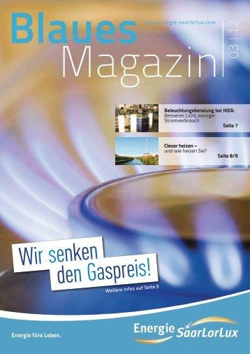 den Gaspreis! Wir senken - Energie SaarLorLux