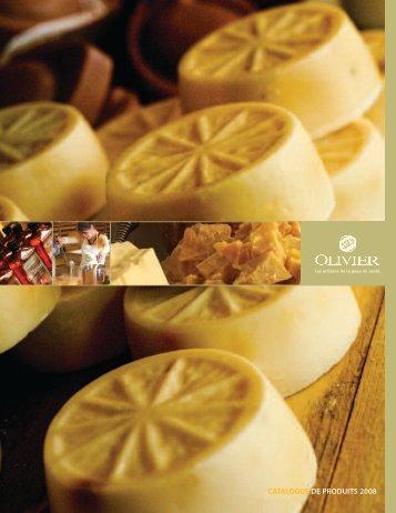 catalogue de produits 2008 - la Savonnerie Olivier