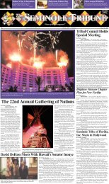 The 22nd Annual Gathering of Nations - Seminole Tribe of Florida
