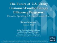 Briefing PDF - Electricity Market and Policy - Lawrence Berkeley ...