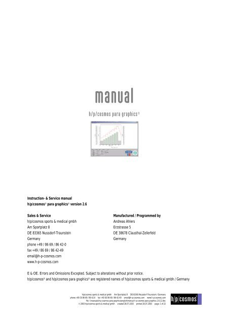 manual cosmosworks