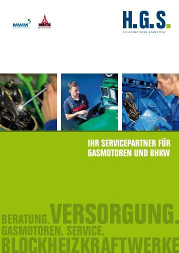 ihr servicepartner für gasmotoren und bhkw - Henkelhausen GmbH ...
