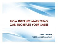 HOW INTERNET MARKETING CAN INCREASE YOUR SALES