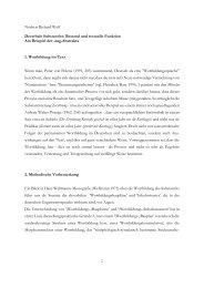 1 Norbert Richard Wolf Deverbale Substantive - Institut für deutsche ...