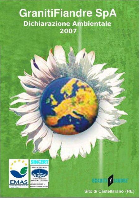Dichiarazione Ambientale 2007 - Fiandre
