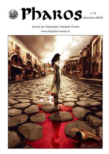 Pharos 24 (décembre 2007) - Association antiquité vivante
