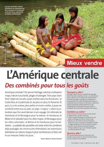 PDF :Amérique centrale
