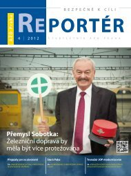 Reportér 2012/4 - AŽD Praha, sro
