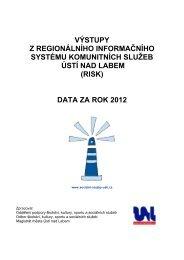 data za rok 2012 - Statutární město Ústí nad Labem