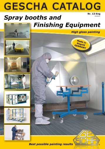 Spray booths and - Gescha GmbH