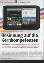 INTERNET & MOBILES - mobilenavigation.mybecker.com