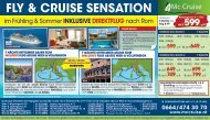 FLY & CRUISE SENSATION Mc Cruise