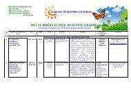 2011 m. birželio mėnesio renginiai - Zarasų švietimo centras