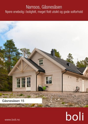 Namsos, Gåsnesåsen - Boli