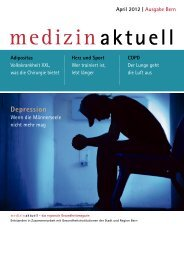 Depression - Spital Tiefenau - Spital Netz Bern