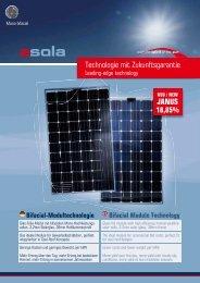 Asola Janus 200/250 - Solstis
