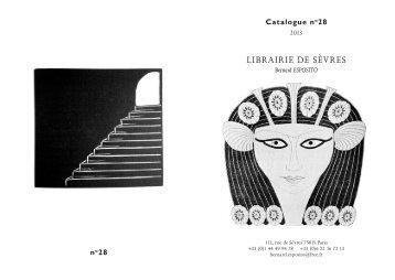 Catalogue 28 - Livre Rare Book